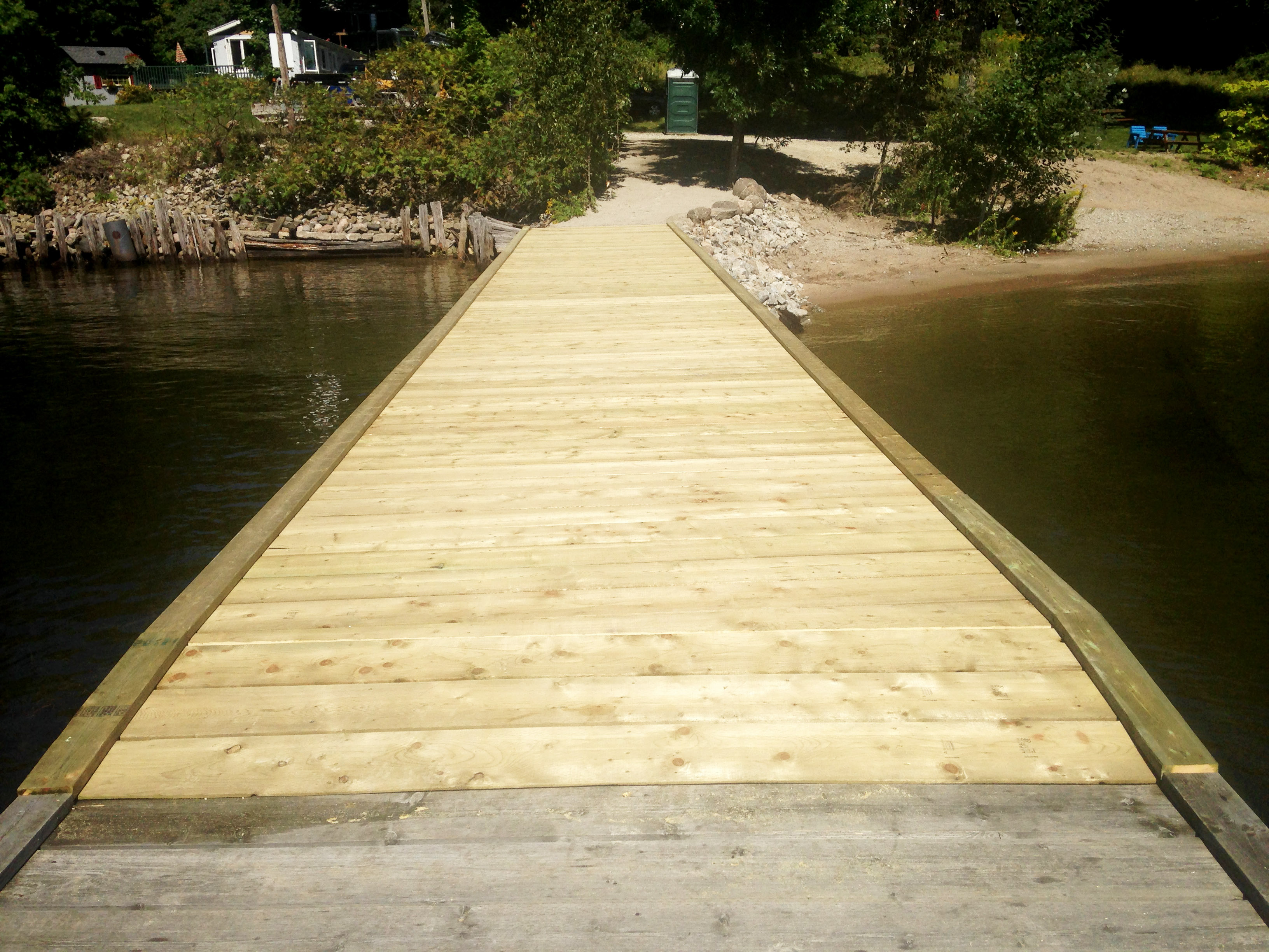 Leeshore Estates Dock Repair