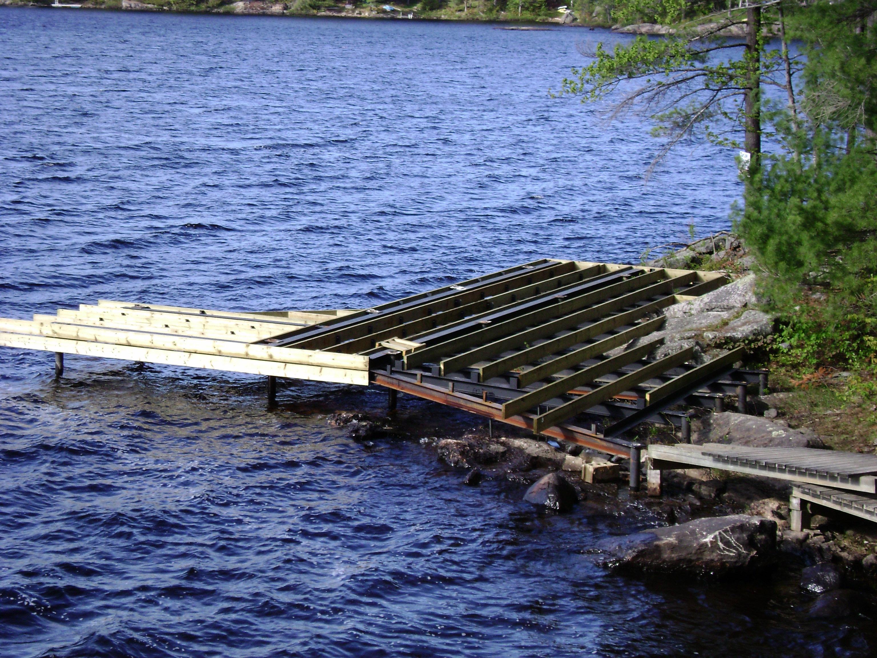 Ryde Lake Pile Dock 03