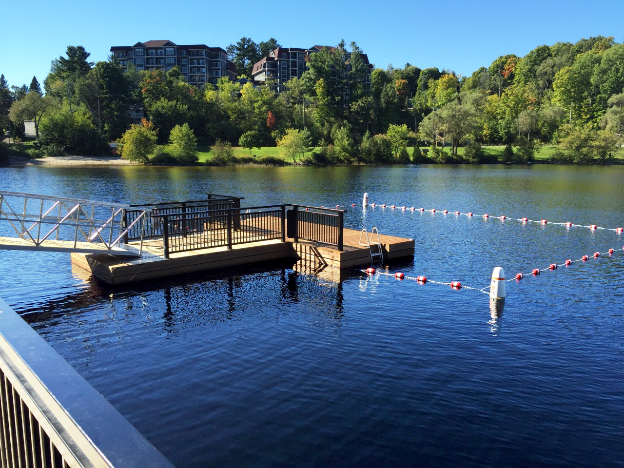Bracebridge Swim Dock