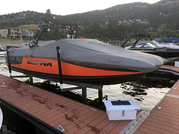 Hydraulic Boat Lifts   taylordocks com